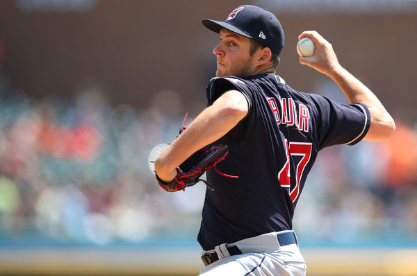 Bauer and Allen Blank Tigers Behind Five-Hit Shutout; Indians 6, Tigers 0