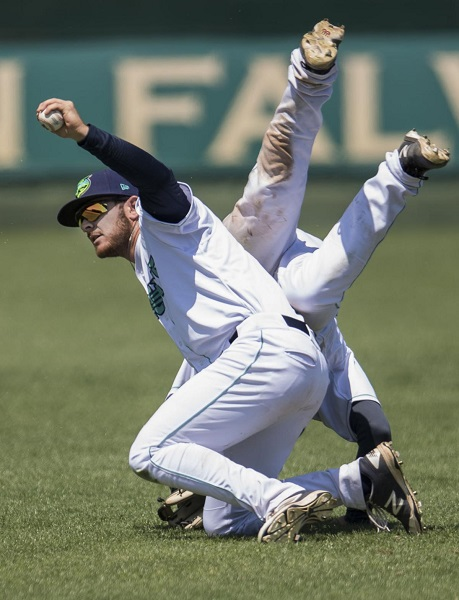 Both Sides of the Ball Provide Options for Hillcats' Trenton Brooks