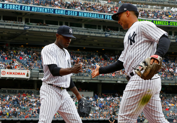 Yanks Complete Sweep, Walk Off on Torres' Blast; Yankees 7, Indians 4
