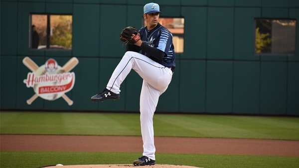 Plutko Picks Up Clippers' Second Straight Pitcher of the Week Award