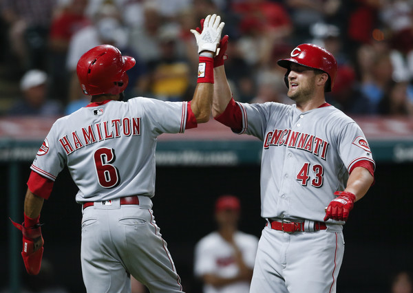 Tribe's Late Rally Falls Short in Loss to Reds; Reds 7, Indians 5