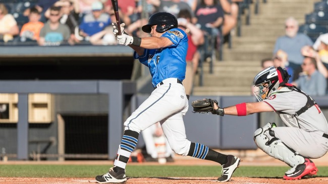 Akron's Haggerty Named Eastern League's Player of the Week