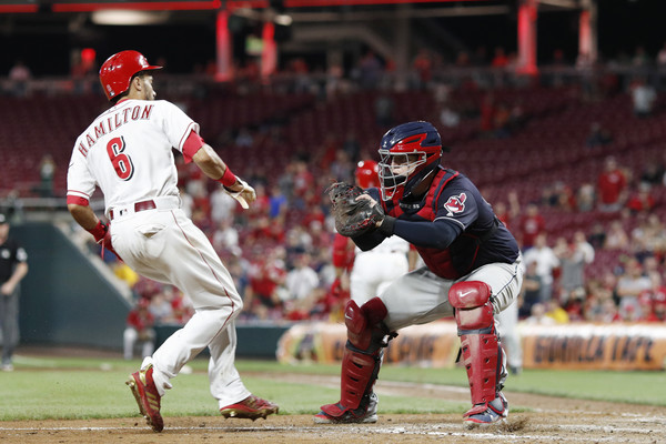 Tribe Completes Sweep After a Nail-Biter Ninth; Indians 4, Reds 3