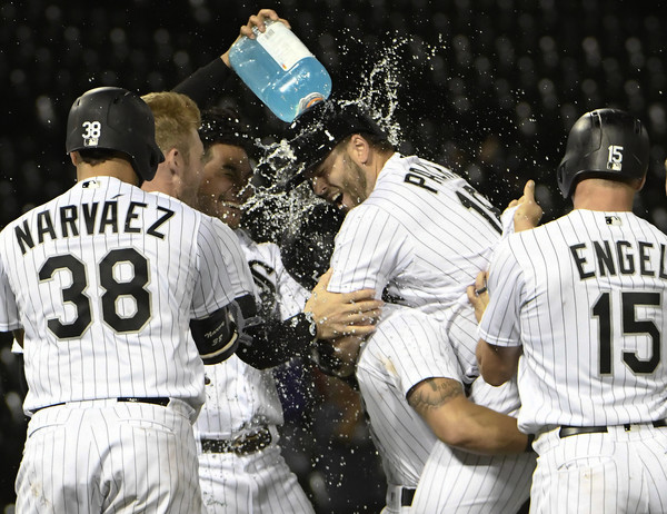 Sox Walk Off with Three-Run Ninth Off Tribe; White Sox 5, Indians 4