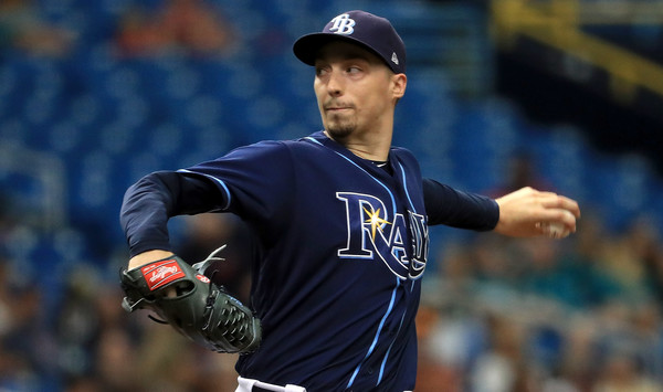Snell Dazzles, Shuts Down Tribe in Finale; Rays 3, Indians 1