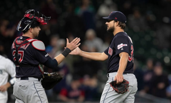 Bieber Backed by Clutch Two-Out Hitting in Win; Indians 4, Mariners 2