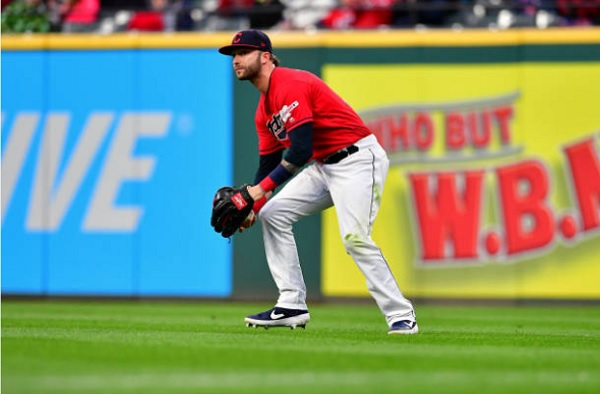 Indians Activate Naquin, Place Rodriguez on Injured List