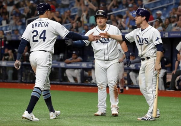 Four Homers Power Tampa Past Tribe; Rays 9, Indians 6