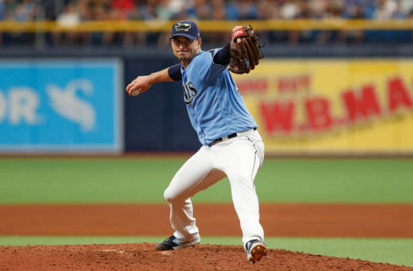Rays Pile on Late, Complete Sweep of Tribe; Rays 8, Indians 2