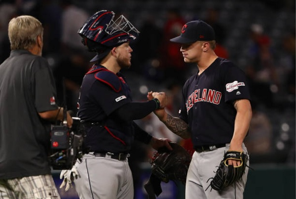 Plesac Fires First Career Shutout in Four-Hitter Over Halos; Indians 8, Angels 0