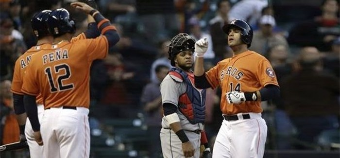 Myers Struck by Long Ball Again; Astros 3, Indians 2