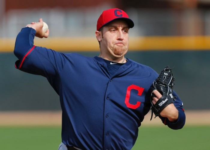 Harang Looking to Resurrect Career With Indians