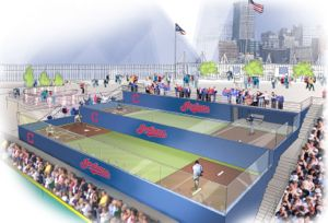 Tiered bullpens will be placed where some right field seating is currently. The new bullpens will allow fans to sit around the players during the game.