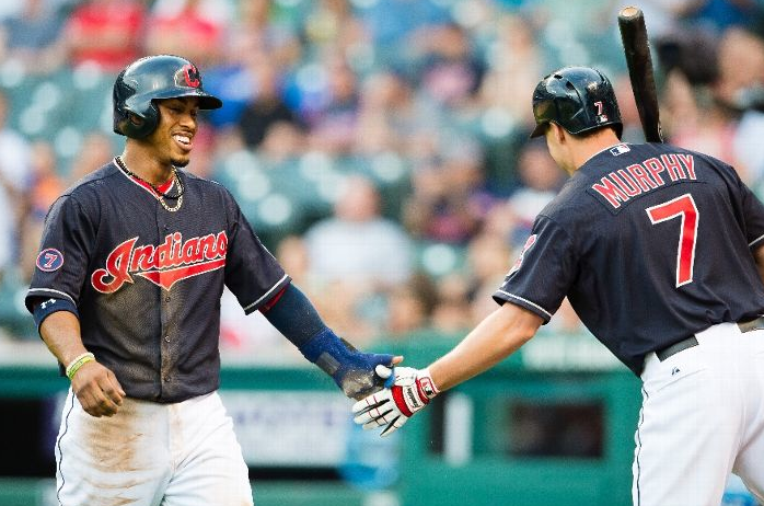 Late Inning Run, Beats Chicago and Rain; Indians 4, Cubs 3