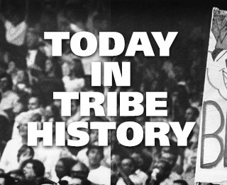 Today in Tribe History: May 12, 2008