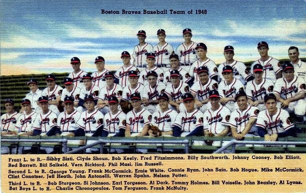 Indians Get Their First Look at the Boston Braves