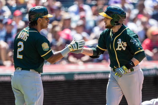 Athletics Take Series with Five-Hit Shutout of Tribe; A's 6, Indians 0
