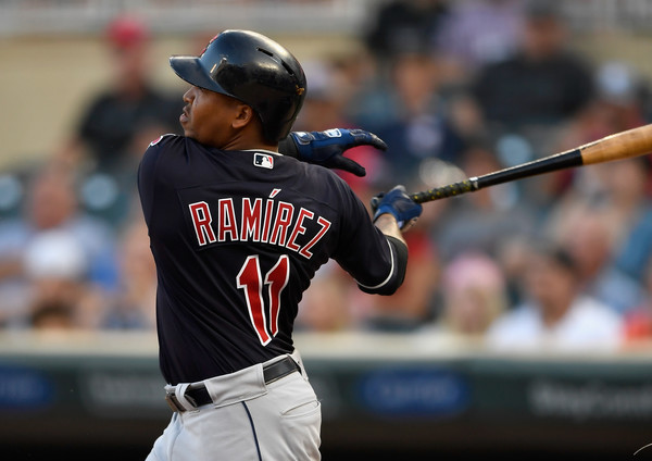 Ramirez Named American League's Player of the Month for July