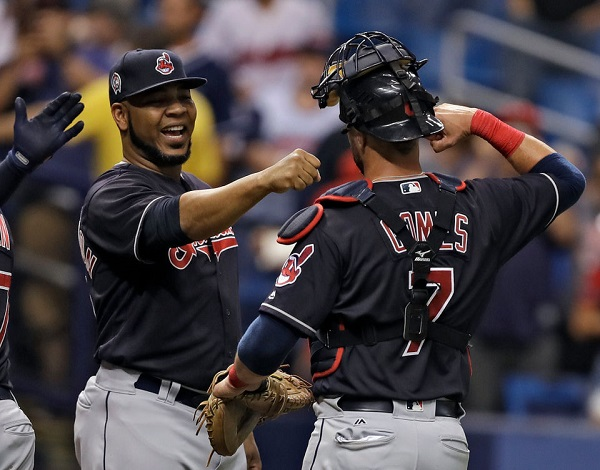 Tribe Battery Powered in Shutout of Tampa; Indians 2, Rays 0
