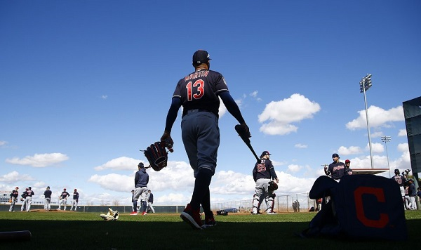 Countdown to Indians' Opening Day – 13 – Leonys Martin