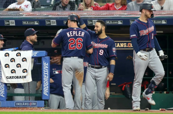 Indians Rally Falls Short as Twins Avoid First Sweep of Year; Twins 5, Indians 4