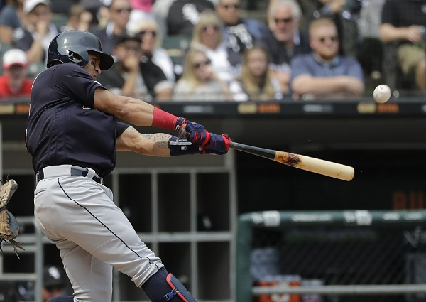Pair of Homers Power Tribe Past Pale Hose; Indians 5, White Sox 2
