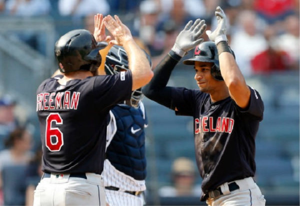 Tribe Starts Strong, Splits Series With Yankees; Indians 8, Yankees 4