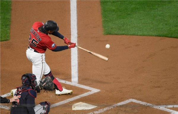 Twins Homers, Absent Tribe Offense Send Bieber to First Loss; Twins 3, Indians 1