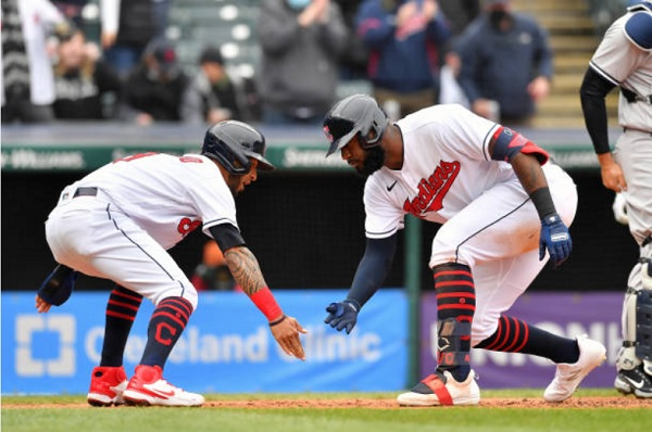 Tribe Skid Stops at Four to Avoid Four-Game Sweep; CLE 7, NYY 3